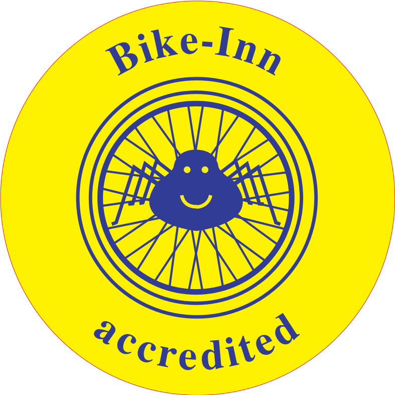 Bike Inn Accredited logo